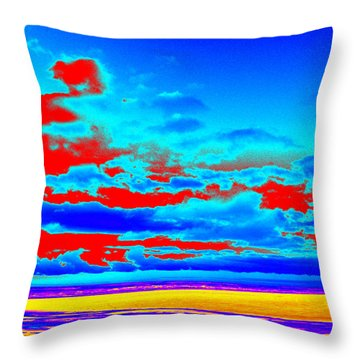 Sky #3 Throw Pillow