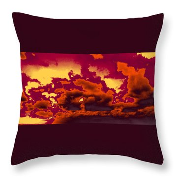 Sky #4 Throw Pillow
