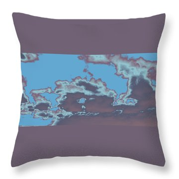 Sky #5 Throw Pillow