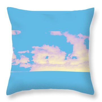 Sky #6 Throw Pillow