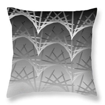 Sky Arch 19 Throw Pillow