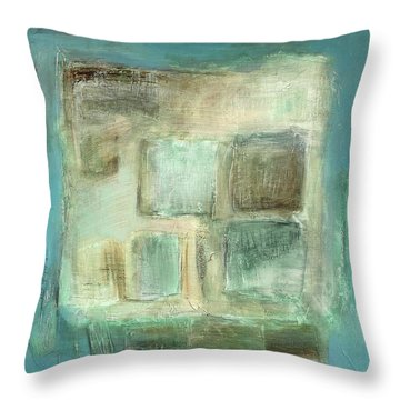 Sky Throw Pillow by Behzad Sohrabi
