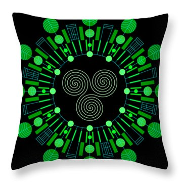 Sky Chief Color Throw Pillow