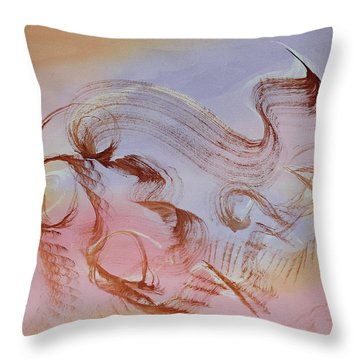 Sky Dance Throw Pillow by Asha Carolyn Young