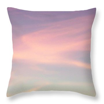 Throw Pillow featuring the photograph Sky Dancer by Betty Northcutt