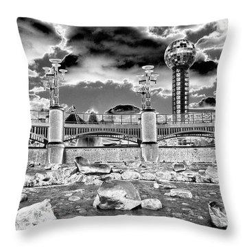Sky Dome - Se1 Throw Pillow
