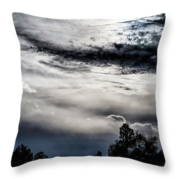 Sky Drama Throw Pillow