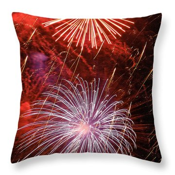 Sky Explosion Throw Pillow by Phill Doherty