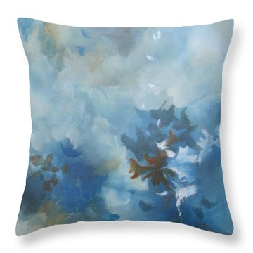 Sky Fall I Throw Pillow