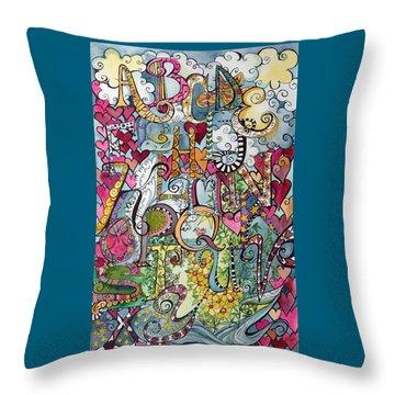 Sky Garden Throw Pillow