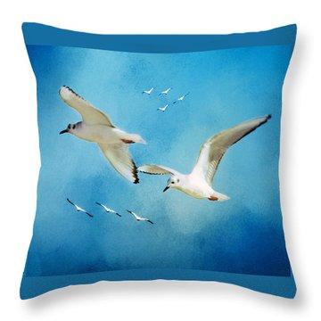 Sky High Flight Throw Pillow