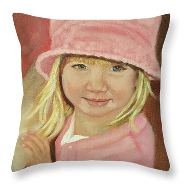 Sky In Pink Throw Pillow