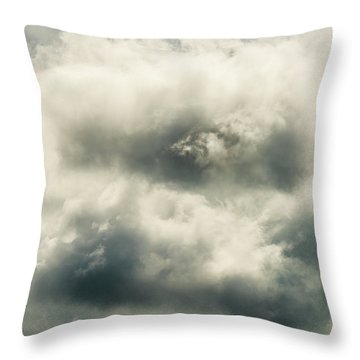 Sky Life Appears  Throw Pillow