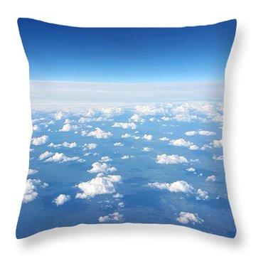 Sky Life Throw Pillow