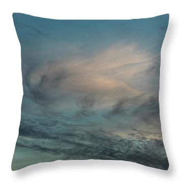Throw Pillow featuring the photograph Sky Life by Steven Poulton