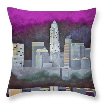 Sky Line Throw Pillow