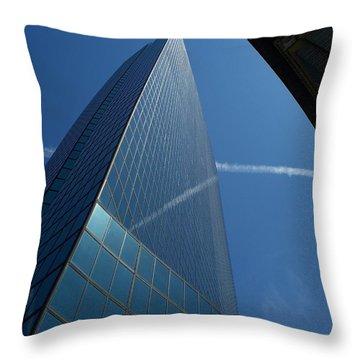 Sky Lines  Throw Pillow