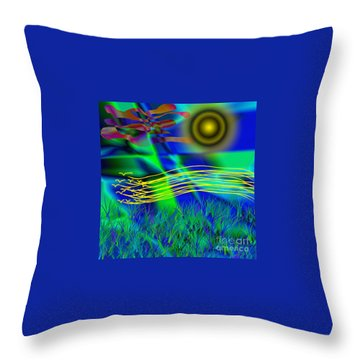 Sky Of Mind Throw Pillow