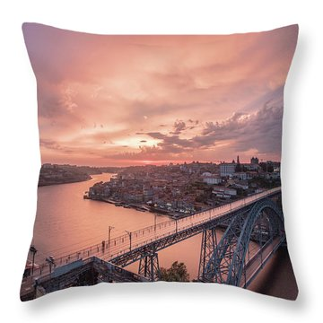 Throw Pillow featuring the photograph Sky Pierce by Bruno Rosa