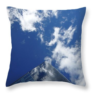 Sky Pyramid Throw Pillow