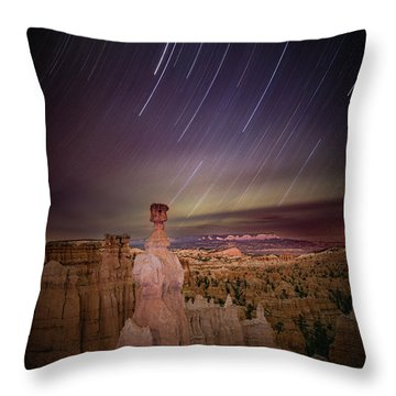 Sky Scraper Throw Pillow