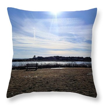 Sky Show Throw Pillow