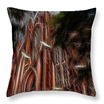 Sky Spirits 2 Throw Pillow by William Horden