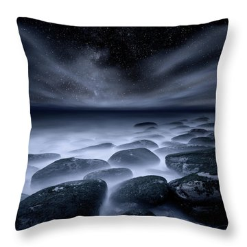 Sky Spirits Throw Pillow by Jorge Maia
