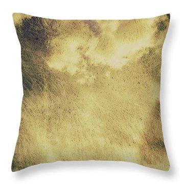 Sky Texture Background Throw Pillow