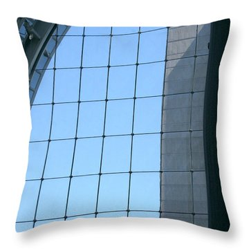 Throw Pillow featuring the photograph Sky View by Emanuel Tanjala