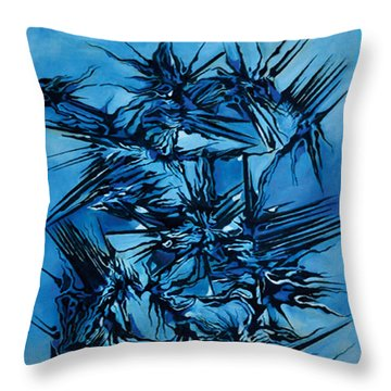 Sky Vs Philosophy Throw Pillow