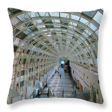 Sky Walk Toronto Throw Pillow