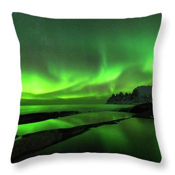 Skydance Throw Pillow by Alex Lapidus