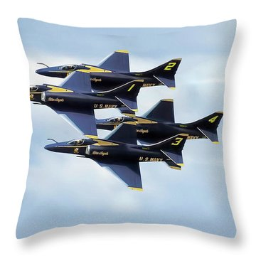 Skyhawk Diamond Throw Pillow