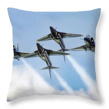 Skyhawk Double Farvel Throw Pillow