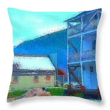 Skykomish  Throw Pillow