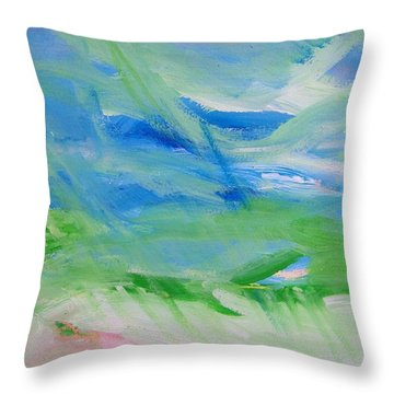Skyland Throw Pillow