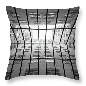 Skylight In The Skyway Throw Pillow