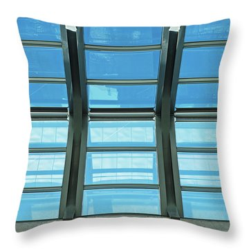 Throw Pillow featuring the photograph Skylight.. by Nina Stavlund