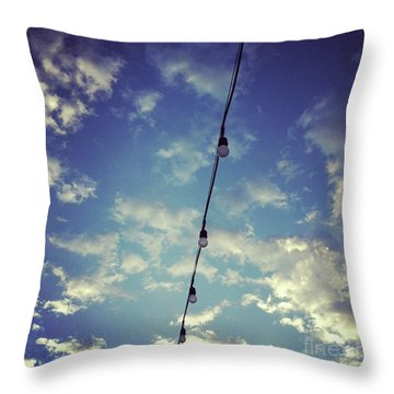 Skylights Throw Pillow