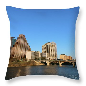 Skyline Atx Throw Pillow