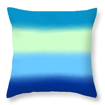 Skyline - Sq Block Throw Pillow