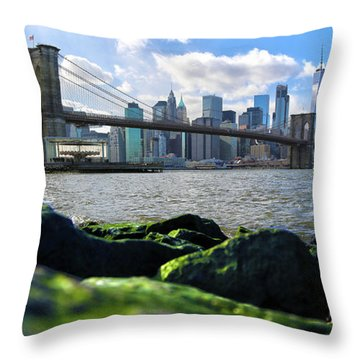 Throw Pillow featuring the photograph Skyline by Mitch Cat