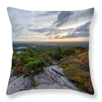 Skyline Trail Vista Throw Pillow