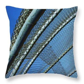 Skylines II Throw Pillow by Anna Villarreal Garbis