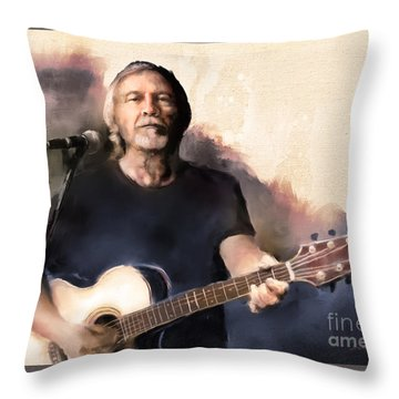Throw Pillow featuring the digital art Skylite Odyssey by Dwayne Glapion