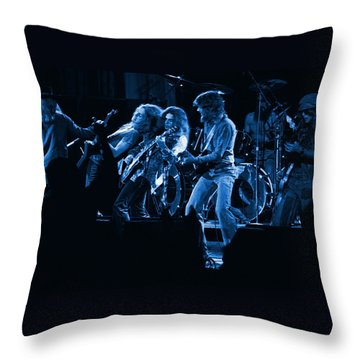 Blues In Spokane Throw Pillow