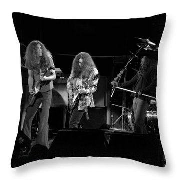 Skynyrd In Spokane Throw Pillow by Ben Upham