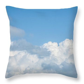 Throw Pillow featuring the photograph Skyscape by Jan Bickerton