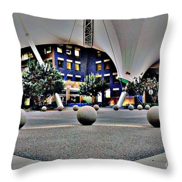 Skysong Asu Scottsdale Innovation Center Throw Pillow